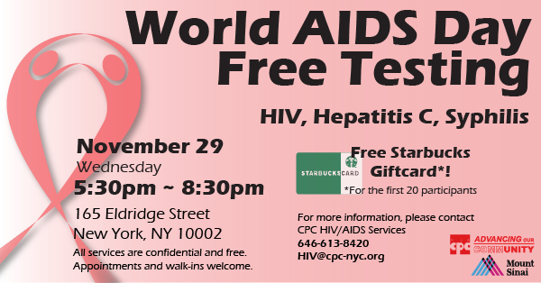 World AIDS Day Flyer