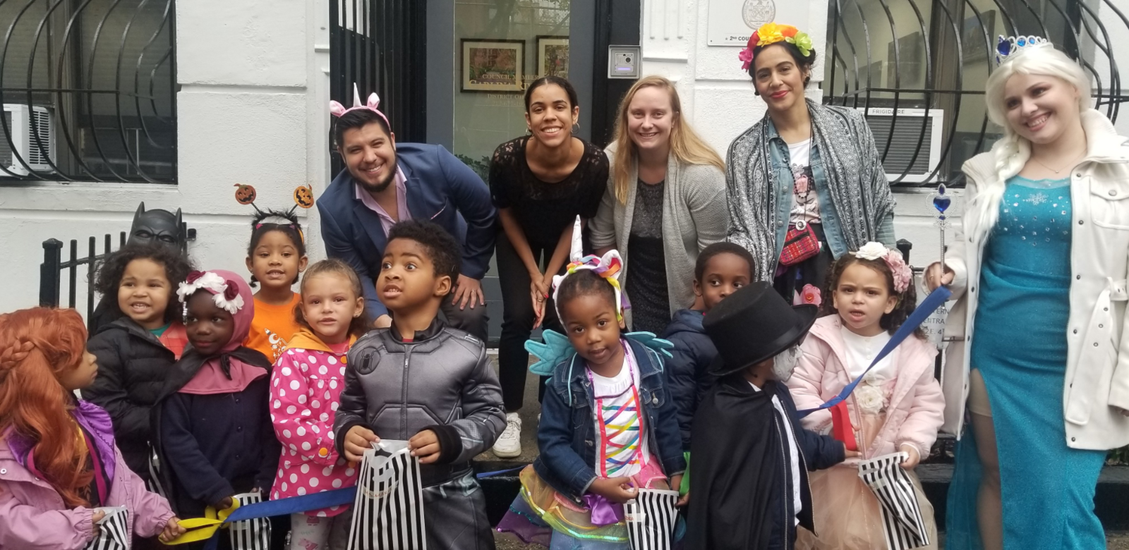 Visit to Councilmember Carlina Rivera's Office on Halloween