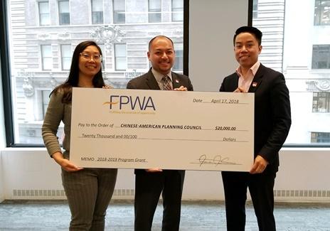 CPC Receives FPWA 2018 Program Grant