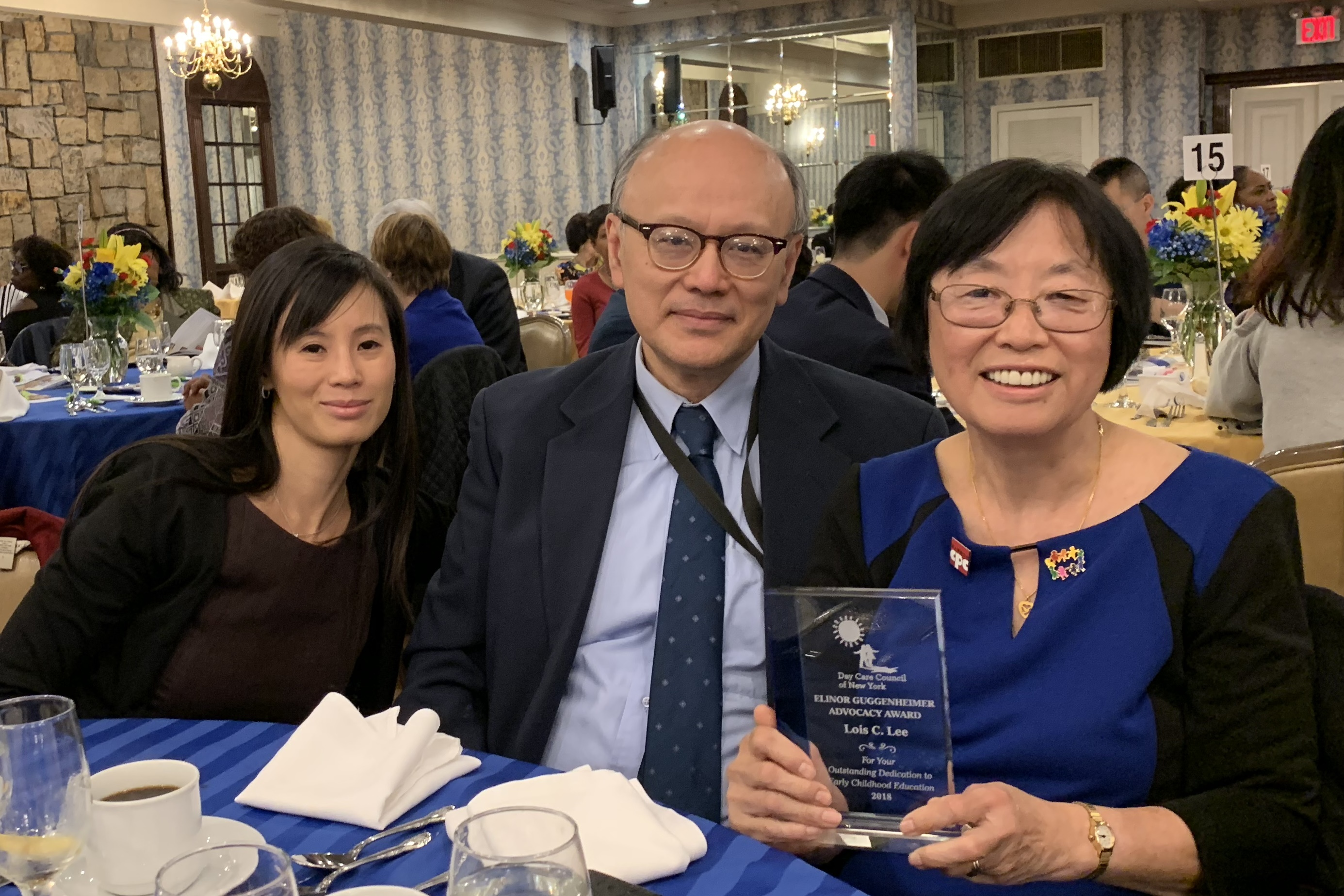 DCCNY 2018 Unsung Hero Lois Lee and Family