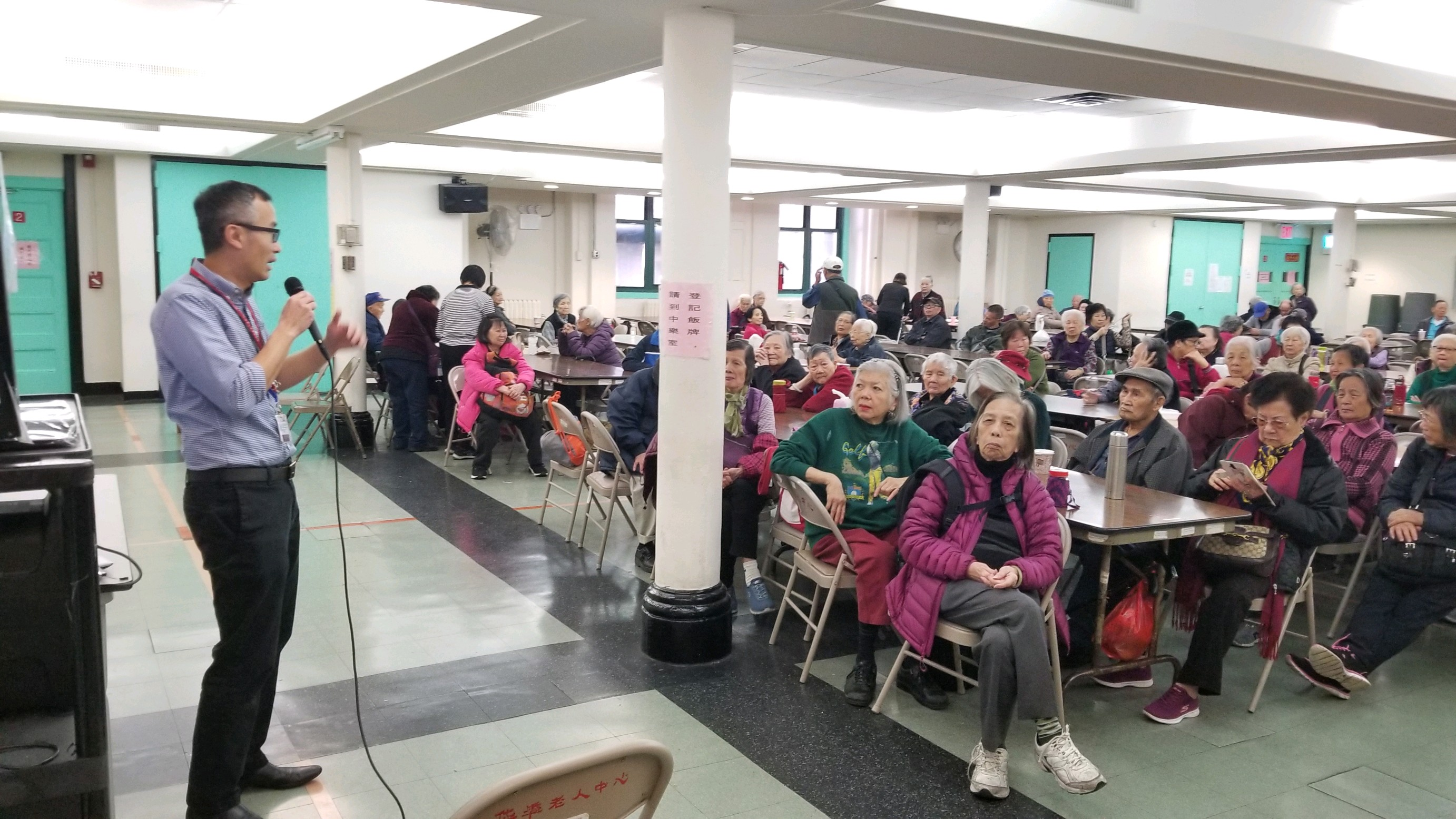 CPC Chinatown Senior Center Discuss Diet and Diabetes