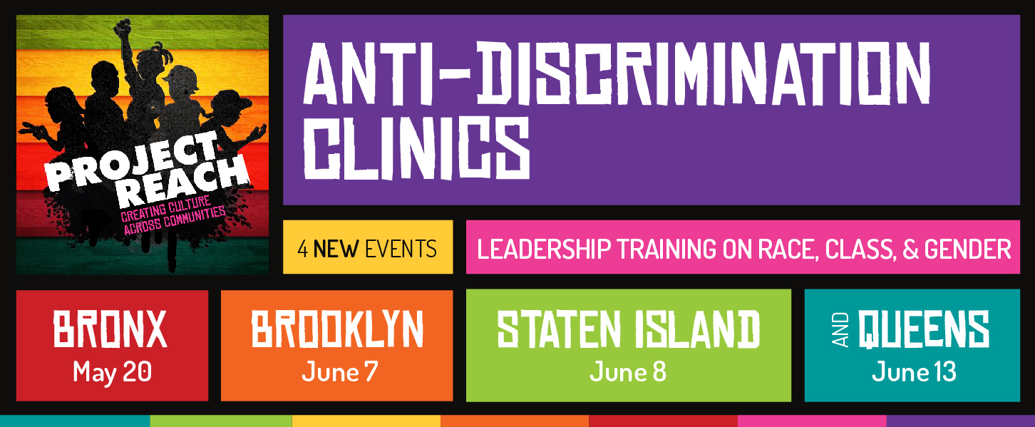 Bronx, Brooklyn, Staten Island, And Queens Anti-Discrimination Clinics