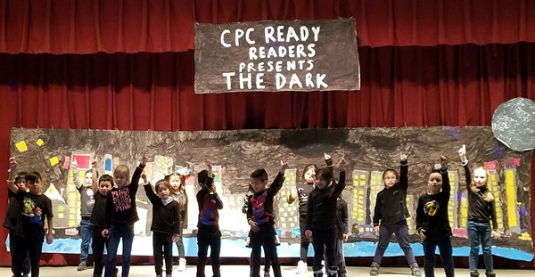 CPC Homecrest SACCC 1st grade_Students Presenting The Dark