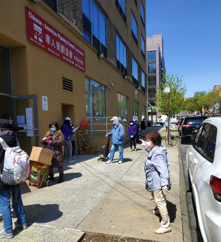 Food Pickup at CPC Brooklyn Community Services April 25