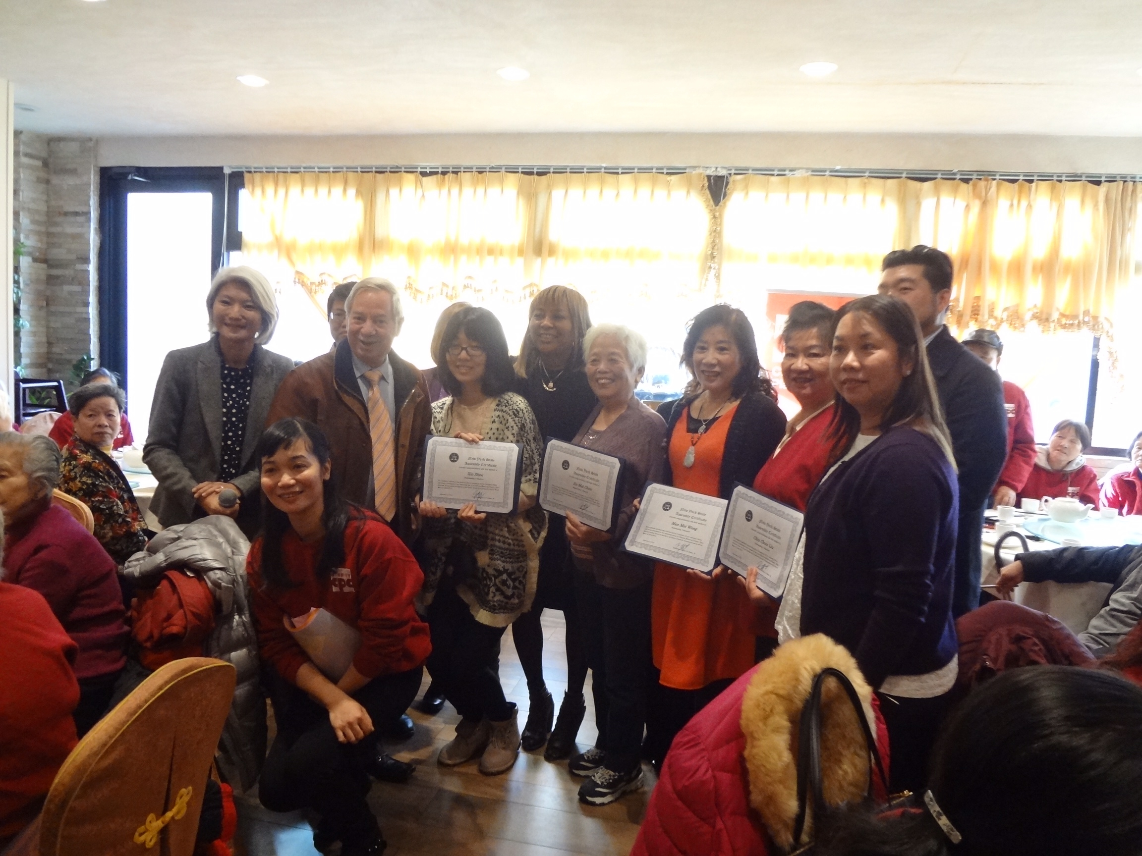 CPC Brooklyn Community Services Celebrates Thanksgiving with the Seniors