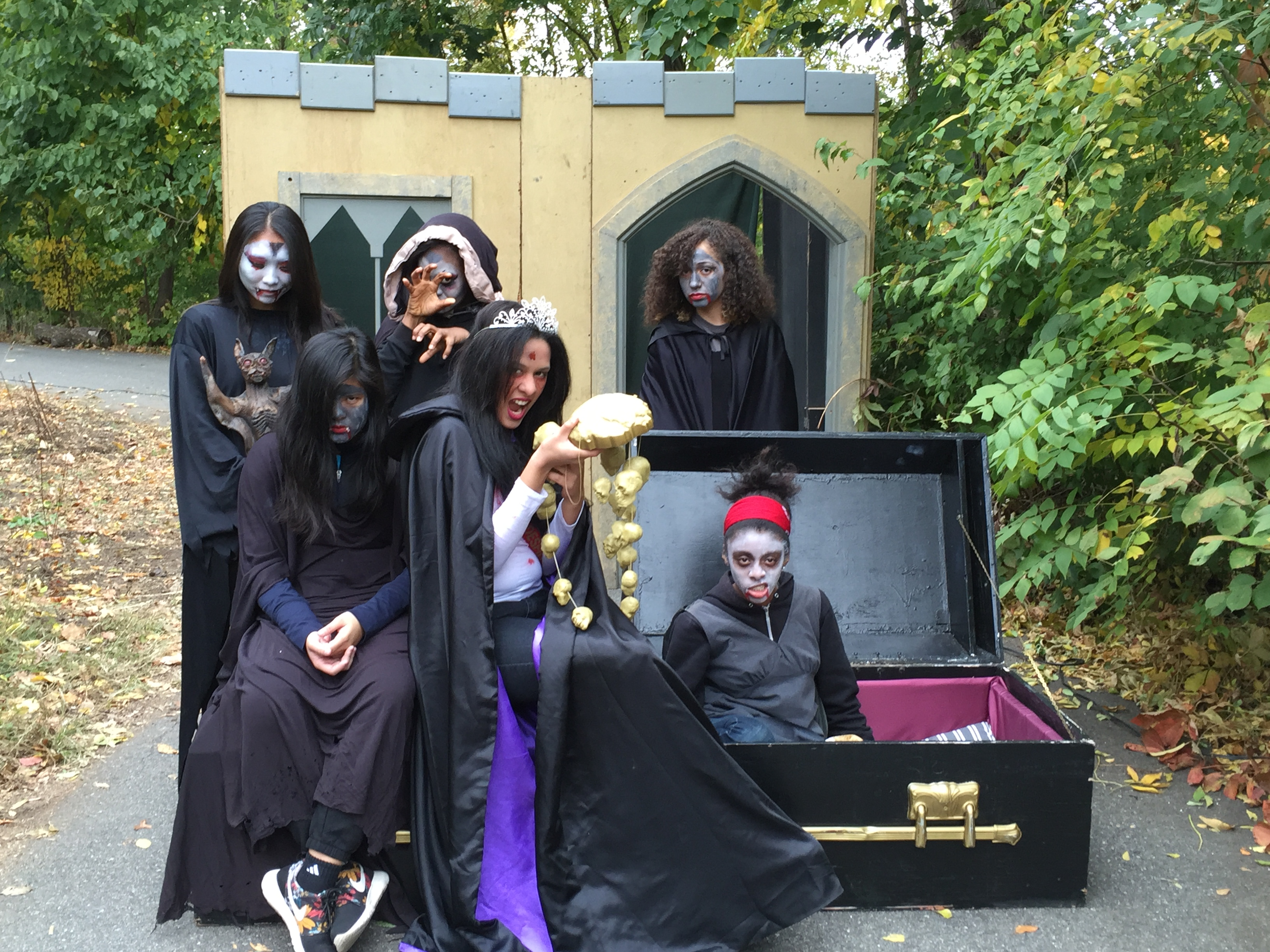 CPC Youth Spook Prospect Park Visitors for Halloween
