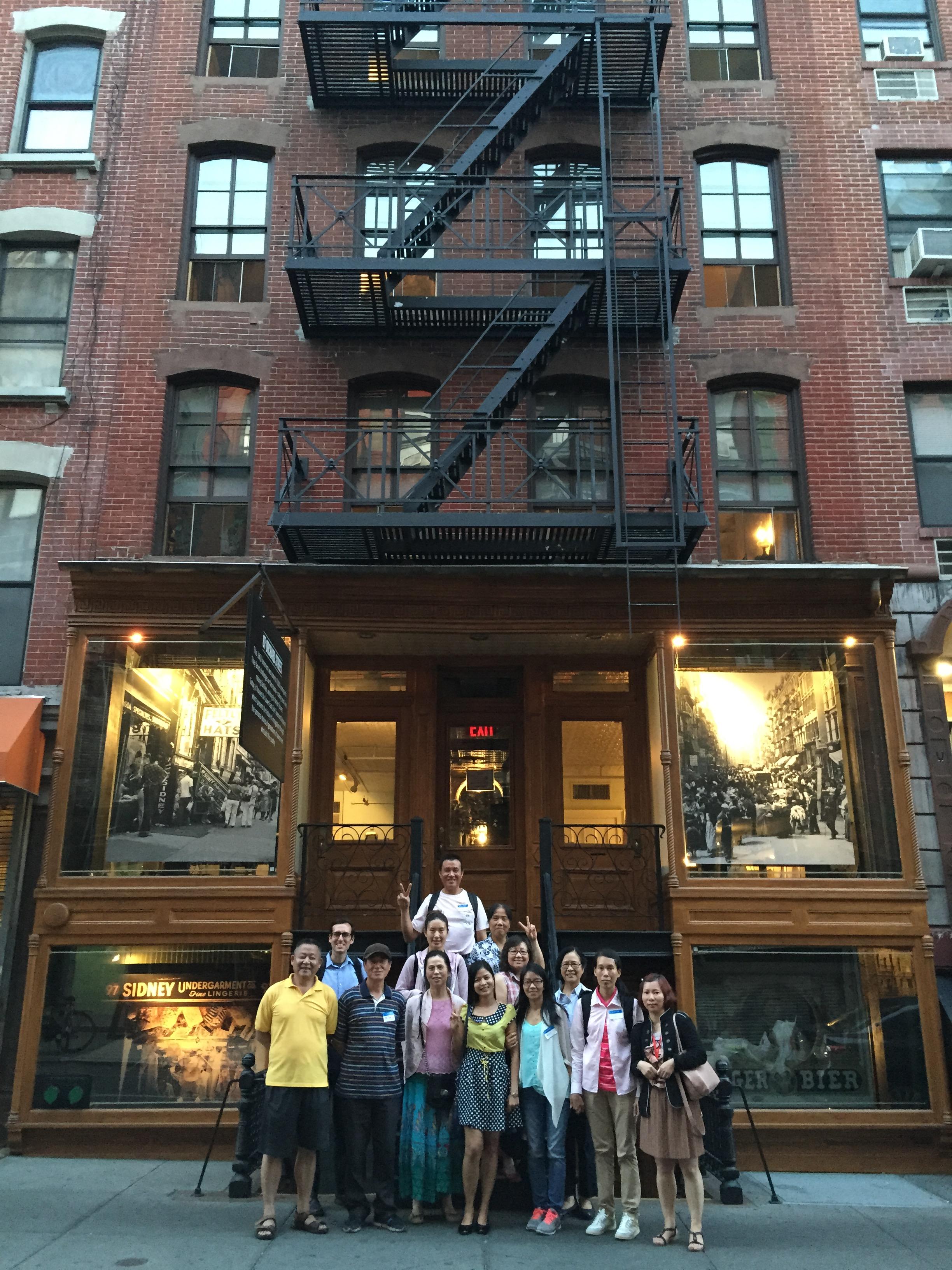 CPC Literacy Program visits the LES Tenement Museum