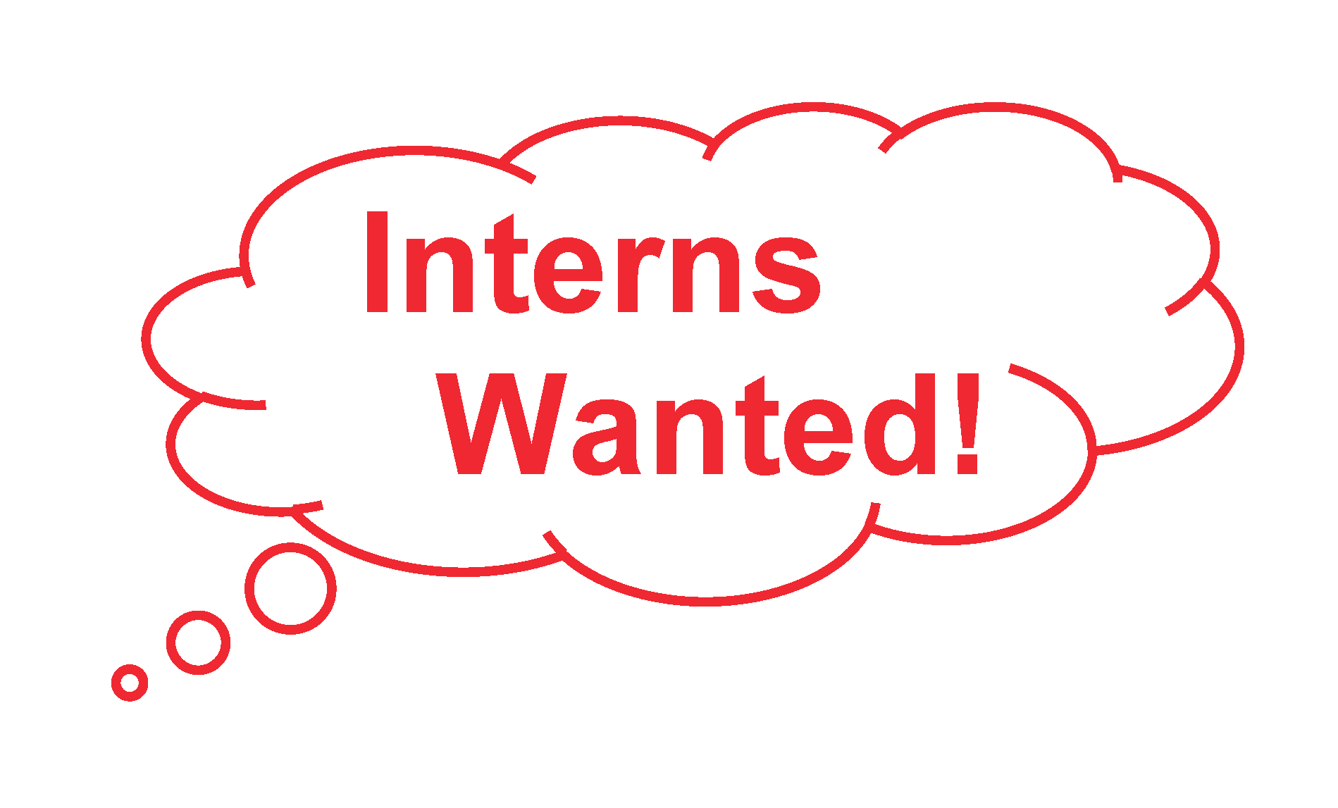 Interns Wanted Graphic