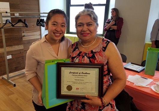 CPC Assistant Program Director Recognized at 2nd Annual COMPASS Cares Afterschool Professionals Breakfast