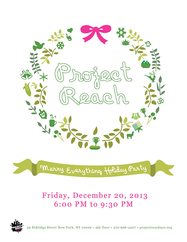 Project Reach - Merry Everything Holiday Party