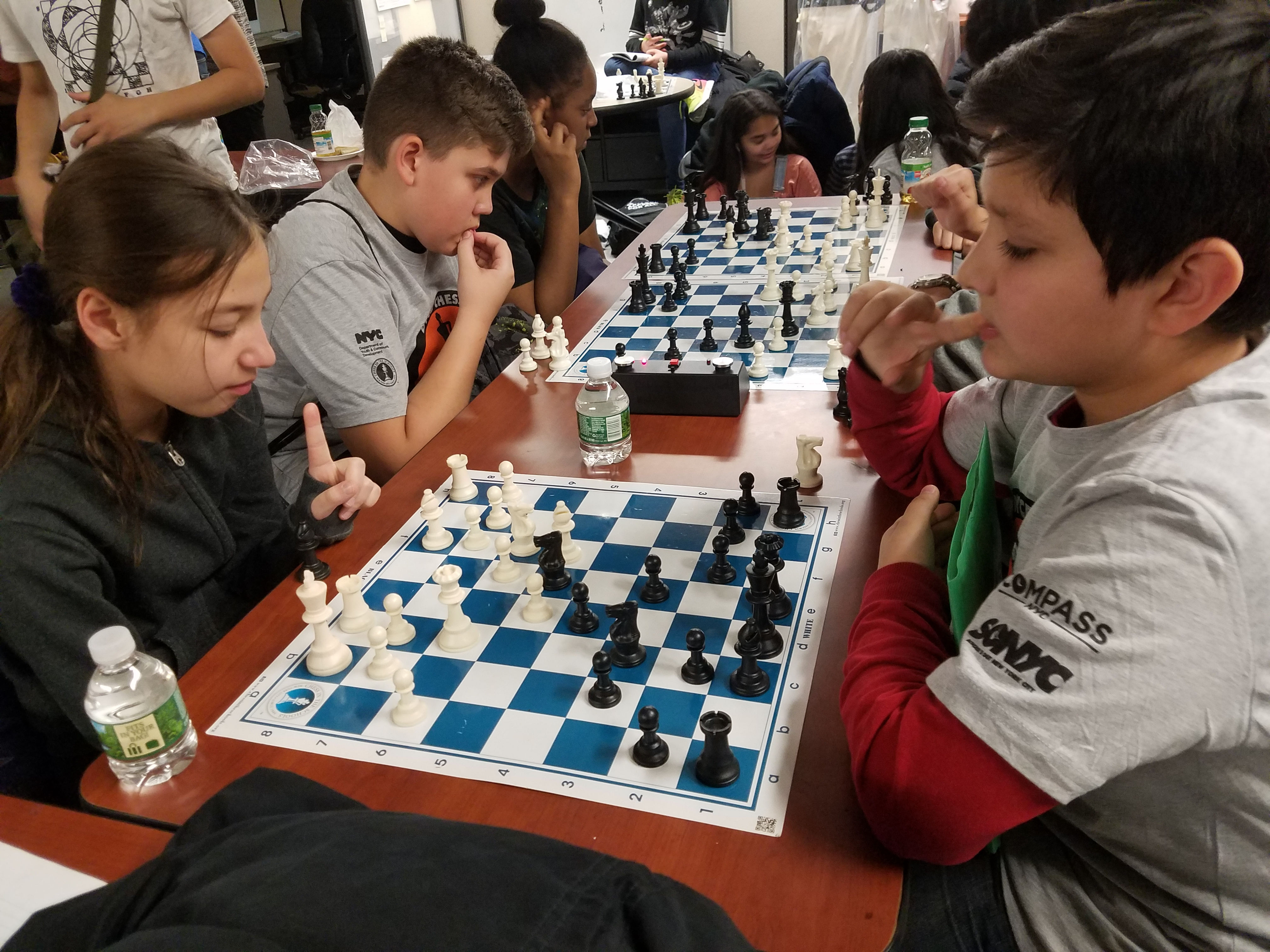 Learning and Building Confidence at DYCD Chess Masters Tournament