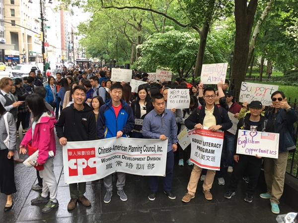 1,500 Strong at Rally for Adult Literacy