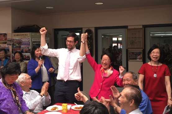 CPC Hosts a Cook-Off between NYS Senator Daniel Squadron & NYC Councilmember Margaret Chin at NY Chinatown Senior Center