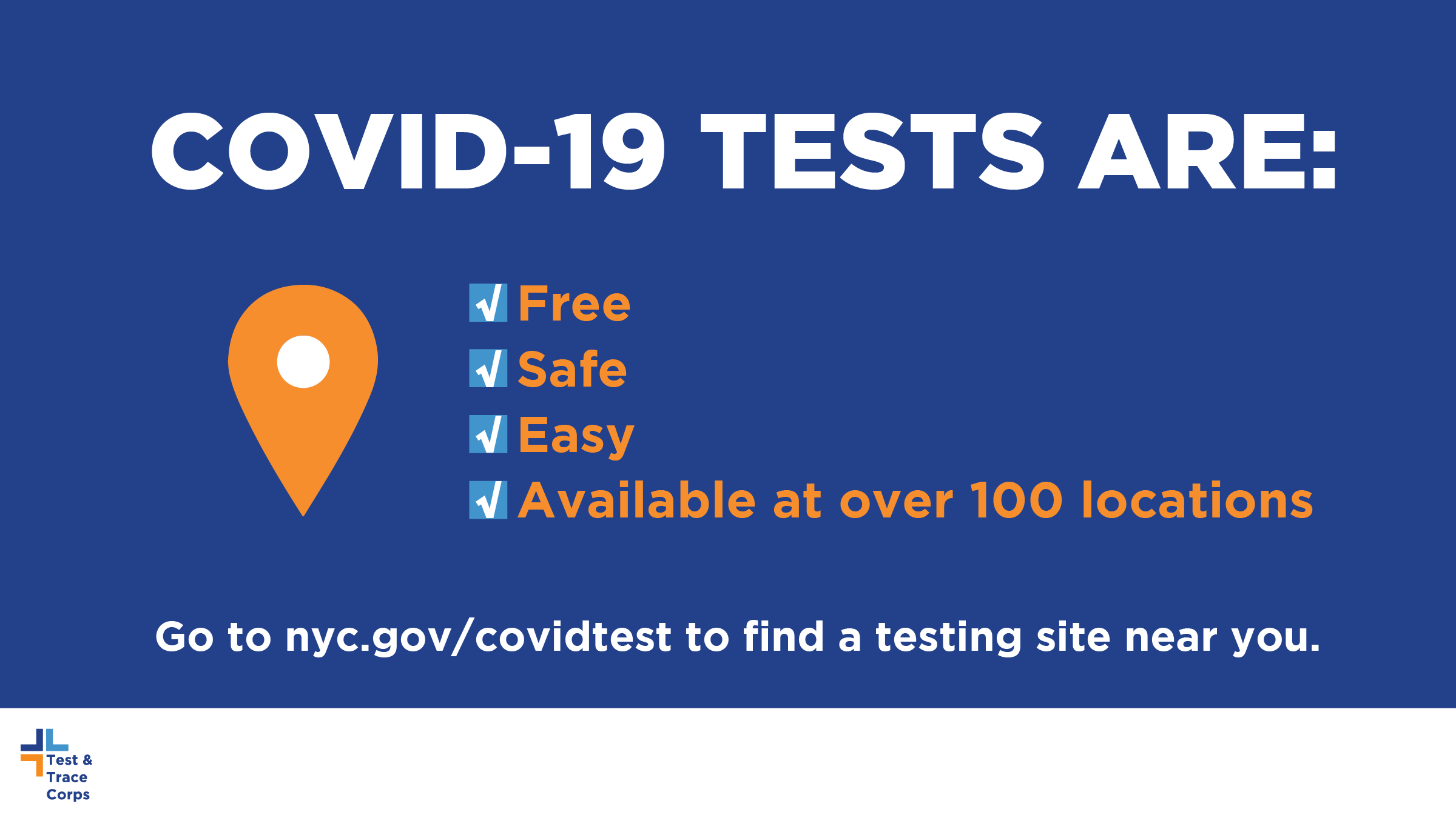 Covid 19 Testing Is Available For Free At A Location Near You Chinese American Planning Council