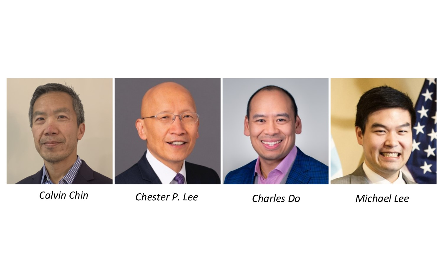 Calvin Chin Chester P Lee Charles Do Michael Lee