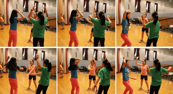 Students Enjoy Dance with the New Victory Theater Dance Troupe