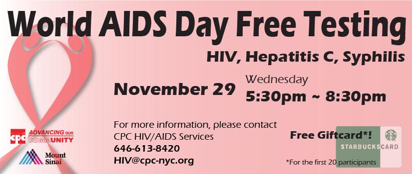 World AIDS Day Flyer