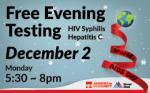World AIDS Day Free Testing 世界愛滋病日
