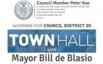 Town Hall with Mayor deBlasio - District 20