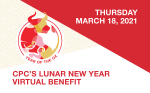 Lunar New Year Virtual Benefit Thursday March 18th, 2021