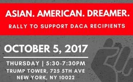 Asian American Dreamer Rally 10-05-17