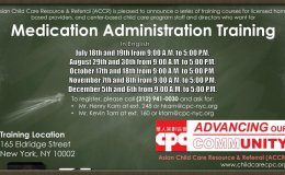 CPC Medication Administration Training in English