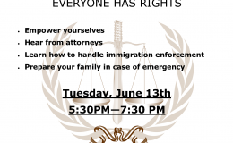 Know Your Rights & Family Preparedness Workshop