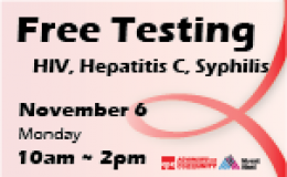 Free HIV and STDs Testing