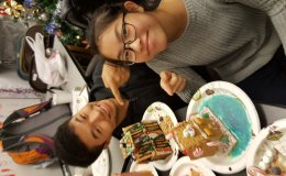 In-School Youth (ISY) Program - Ginger Bread House Arts and Crafts 2016