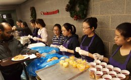 In-School Youth (ISY) Program - Soup Kitchen Volunteering 2016