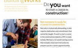 BuildingWorks Pre-Apprenticeship Training Program - 875503906