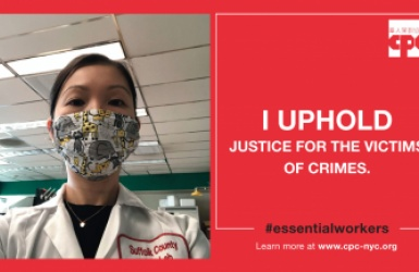 Justice systems worker