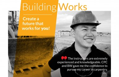 BuildingWorks Pre-Apprenticeship Training Program