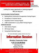 All Services Information Session in Brooklyn Larger