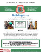 BuildingWorks Flyer - Fall 2021