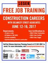 FREE Career Training Flyer
