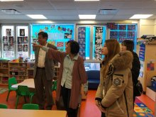 01-23-2018 KCU Visit CPC Queens Community Center - Queens Early Childhood Center
