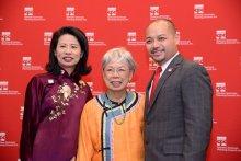 Jenny Low, Virginia Kee, and Wayne Ho