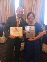 OCA-LI 2017 Distinguished Social Service Award