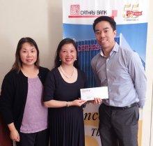 Elizabeth Lee, Senior VP, Cathay Bank Foundation with CPC Directors
