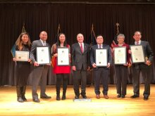2018-02-08 NYS Comptroller DiNapoli and Honorees