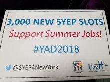 Banner, 3000 summer jobs