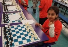 Azqa in Chess Tournament area
