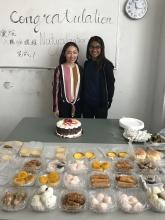 Instructor Deng and SYEP Priya