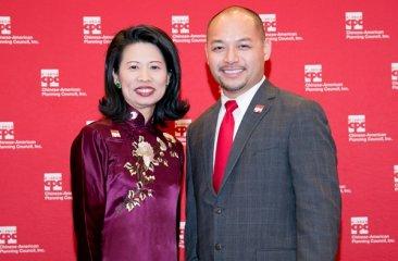 Jenny Low and Wayne Ho