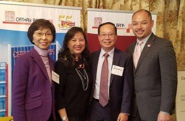 CPC and Cathay Bank Foundation Representatives