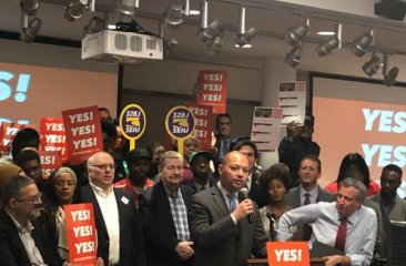 2018-11-01 Get Out to Vote Rally with 32BJ