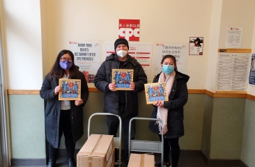 "Boris Noble donated 96 copies of ""B is for Boxing"" to our program at PS 153"