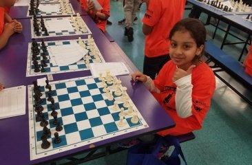Azqa in Chess Tournament area