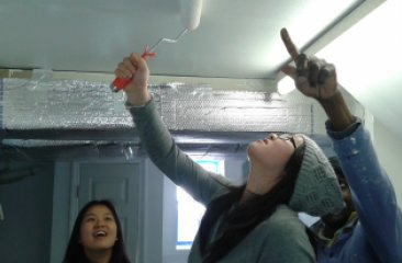 In-School Youth Program Restores a House in Coney Island Damaged by Hurricane Sandy